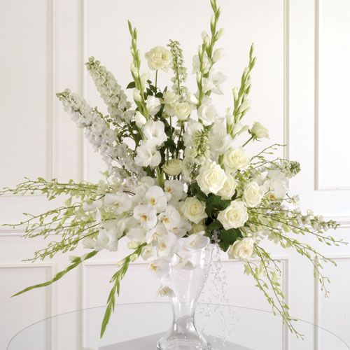 Wedding Altar Flowers Price: White Dendrobium, Phalaenopsis