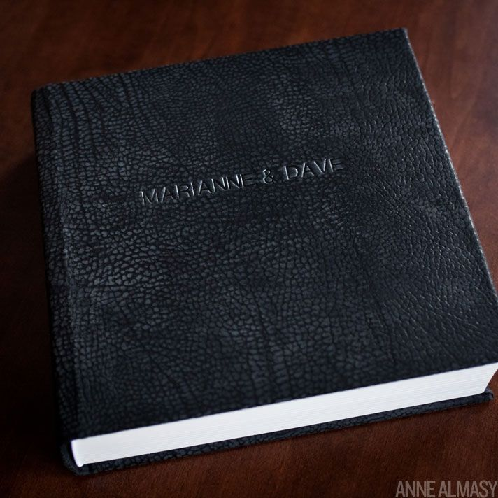 Leather Book Cover Ideas ~ Queensberry wedding album graphite leather anne