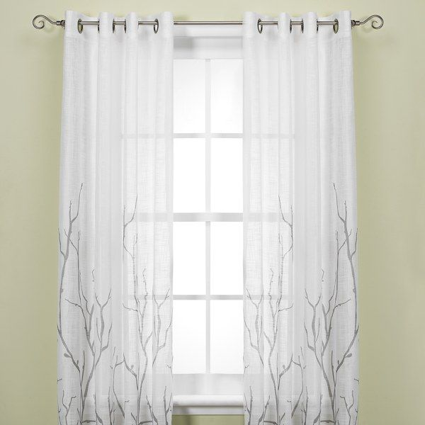 Curtains from Bed bath and beyondWindows Curtains, Grommet Windows, Alton Prints, Curtains Panels, Bedbathandbeyond Com, Master Bedrooms, Prints Grommet, Windows Treatments, Functional Windows