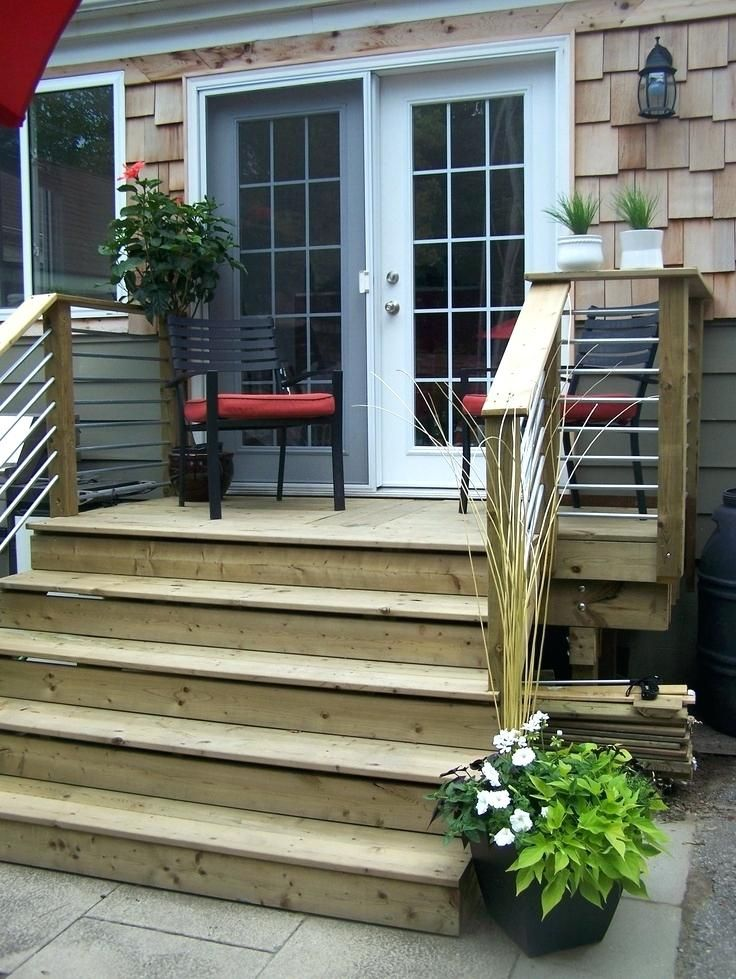 Patio Steps From Sliding Door Finest Deck Doors Image Result For Floor Sliding Glass Doors Small Patio Stairs Building A Deck Porch Design