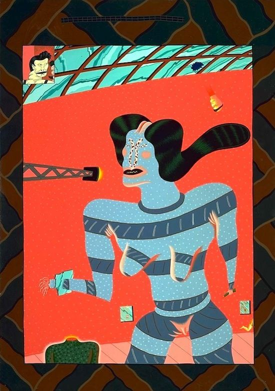 """James T """"Jim"""" Nutt (born November 28, 1938) is an American artist who was a founding member of the Chicago surrealist art movement known as the Chicago Imagists, or the Hairy Who. Description from quazoo.com. I searched for this on bing.com/images"""