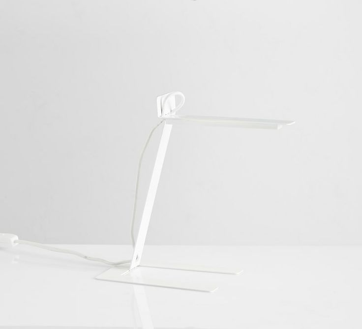 Benshee, white • Designed by Jannis Ellenberger #tablelamp #lamp #light #design #WOUDdesign