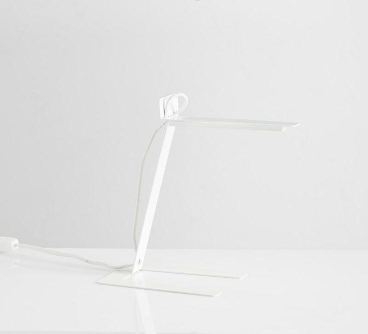 Benshee, white • Designed by Jannis Ellenberger #tablelamp #lamp #light #design #WOUDdesign