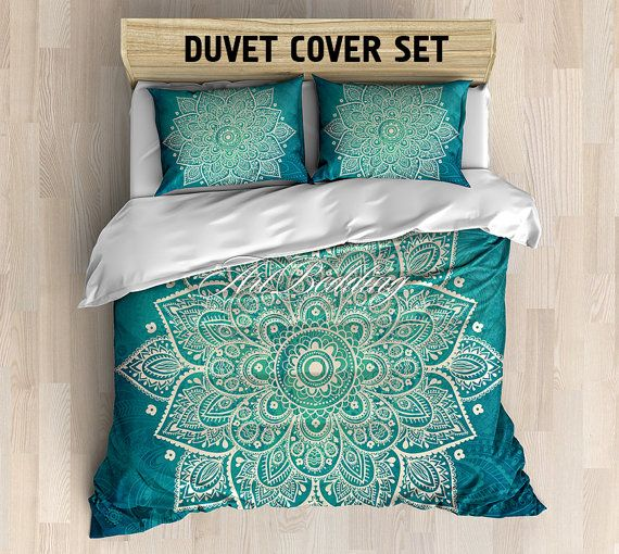 SALE St.Valentine Bohemian bedding, Bohemian queen / king / full / twin duvet cover, vintage ethnic duvet cover set, Boho Indian duvet cover