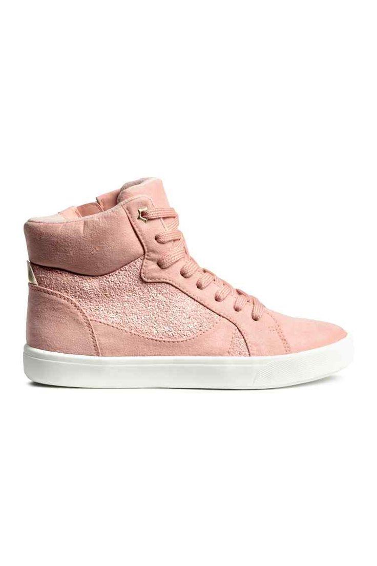 Zapatillas deportivas altas - Rosa de antaño - NIÑOS   H&M ES 1