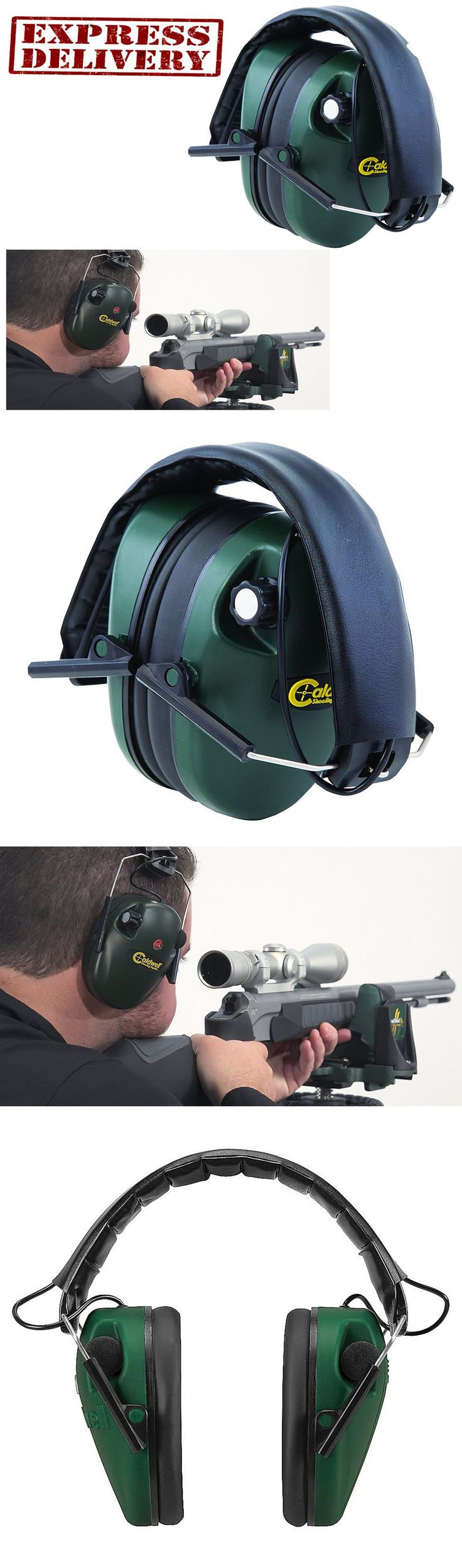 Hearing Protection 73942: Electronic Shooting Ear Protection Muffs Sport Hunt Noise Cancelling Head Gear -> BUY IT NOW ONLY: $34.5 on eBay!