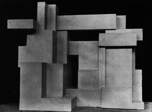 Georges Vantongerloo - Constructions od Volume Relations Emanating from the Ellipsoid, 1926