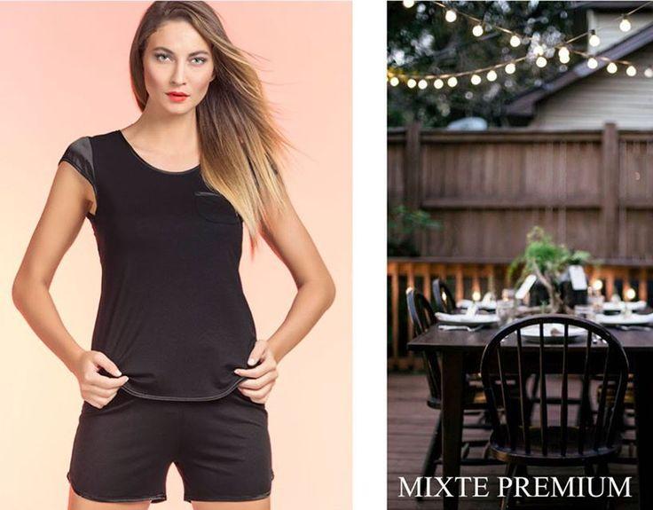 MIXTE PREMIUM. A sensualidade é por sua conta... #ultimolookdodia #lindaemcasa #pijamas #modaintima #springsummer2016 #conforto #mulher #woman #primaveraverano2016