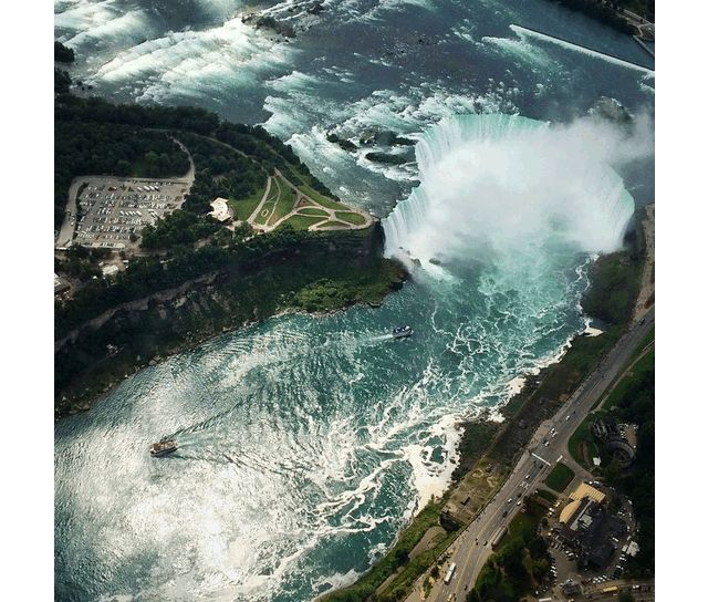 Niagara Falls - Instagram photo by @pketron