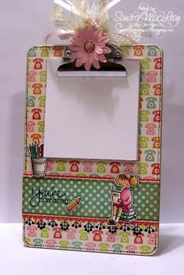 #DIY - It's an altered clipboard!