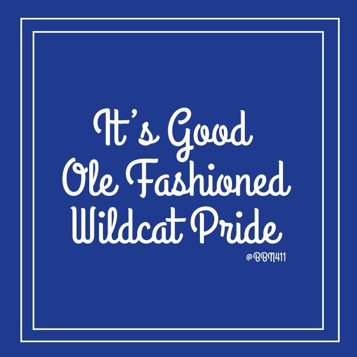 Wildcat Pride #vintage #UK #Basketball #BBN