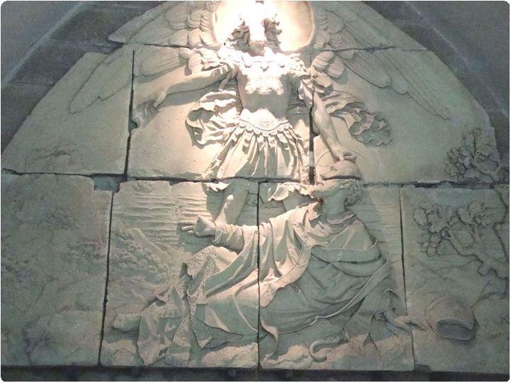 Archangel Miceal @Mont Sant Michel......relief