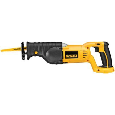 DEWALT DC385B 18-Volt Variable Speed Cordless Reciprocating Saw (Tool Only)