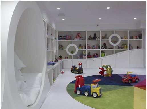 17 best images about cool playrooms on pinterest window for Kids play rooms