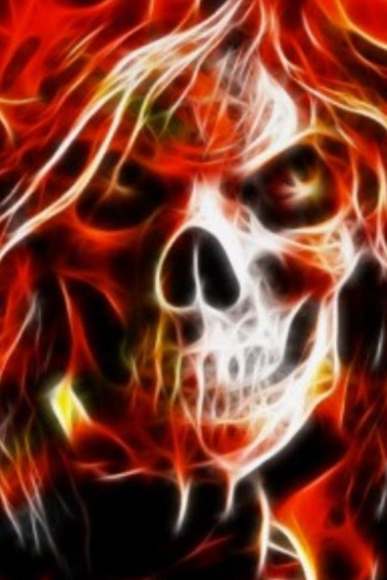 21 Best Flaming Skulls Images On Pinterest Skull Tattoos