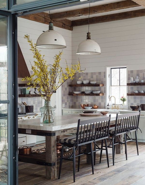 """Chic Shaker"" Is Our Vote for the Next Modern Farmhouse Look…"