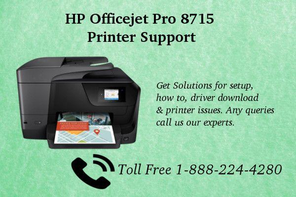 123 Hp Com Ojpro8715 Setup Hp Officejet Pro Hp Officejet Printer