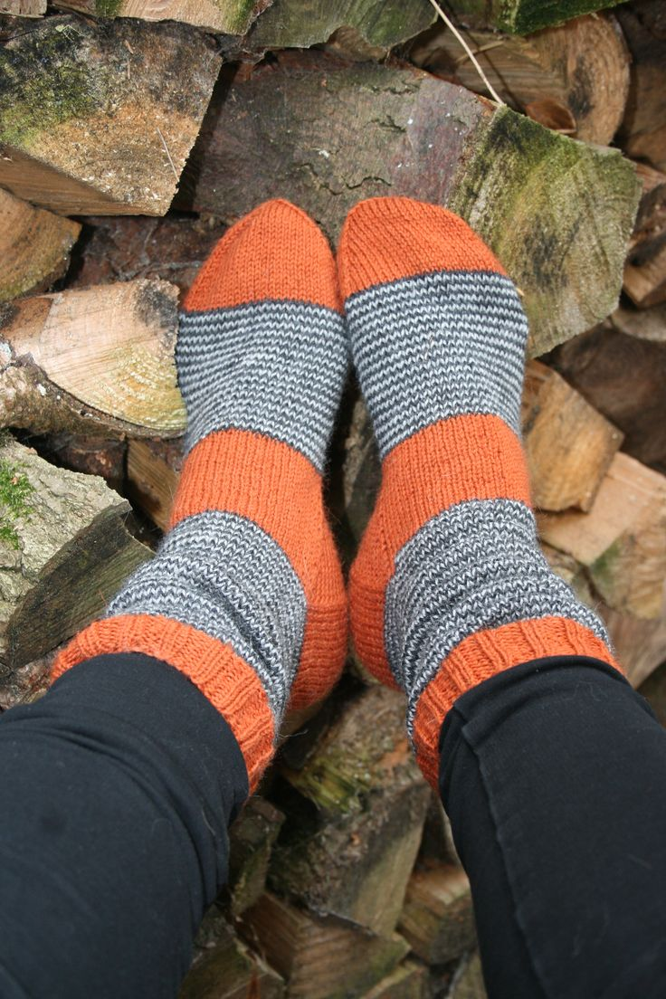 Warm woolen socks for cold Autumn days