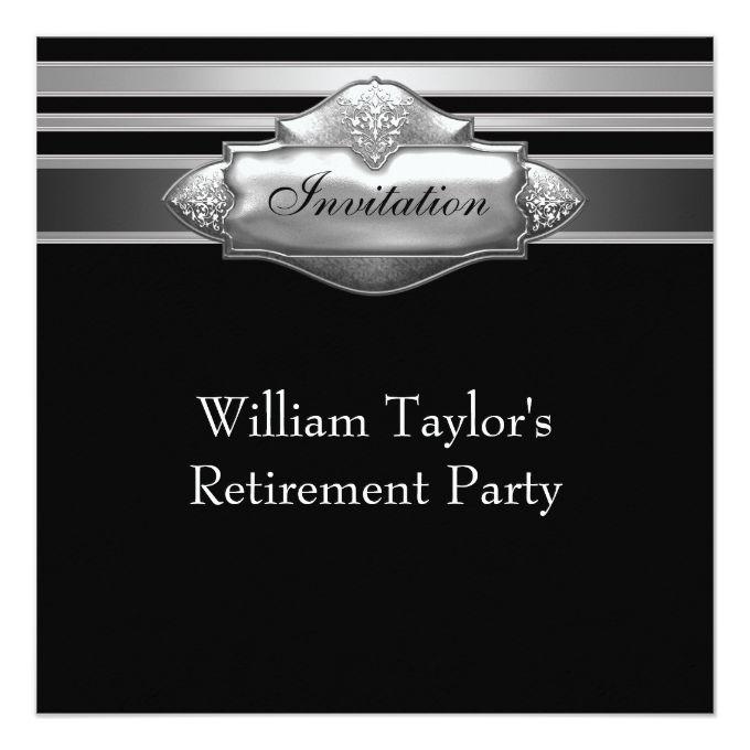 1341 best Retirement Party Invitations images on Pinterest