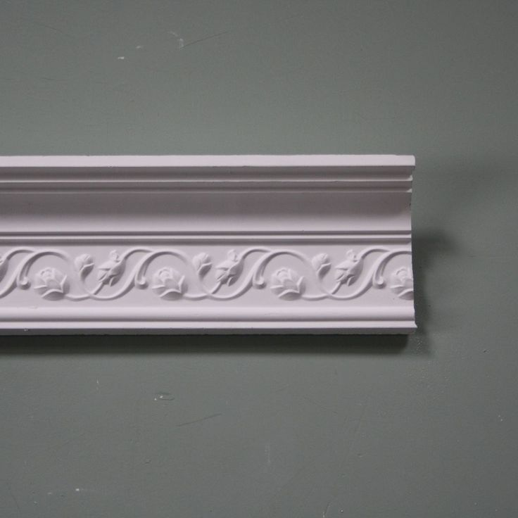 Plaster Coving Pretty Floral Scroll MPC030 1