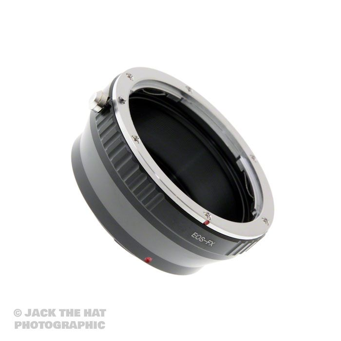 Canon EOS EF to Fuji X Mount Lens Adapter