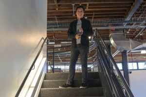 Checking out Pinterest's new home in San Francisco with CEO Ben Silbermann | Pinterest CEO Ben Silbermann at the companys new offices