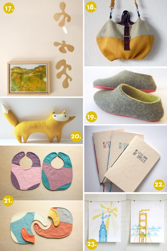 Some ideas for handmade gifts