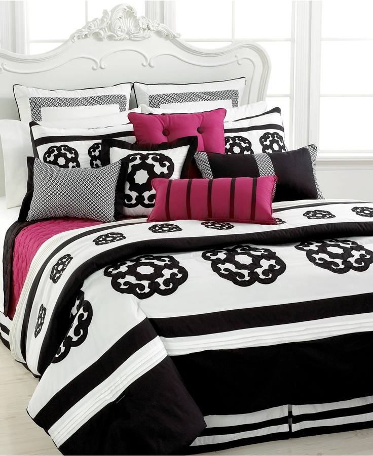 bedding duvet cover bl white black girl p daydream comforter circle modern queen teen detail blue dot set and geometric