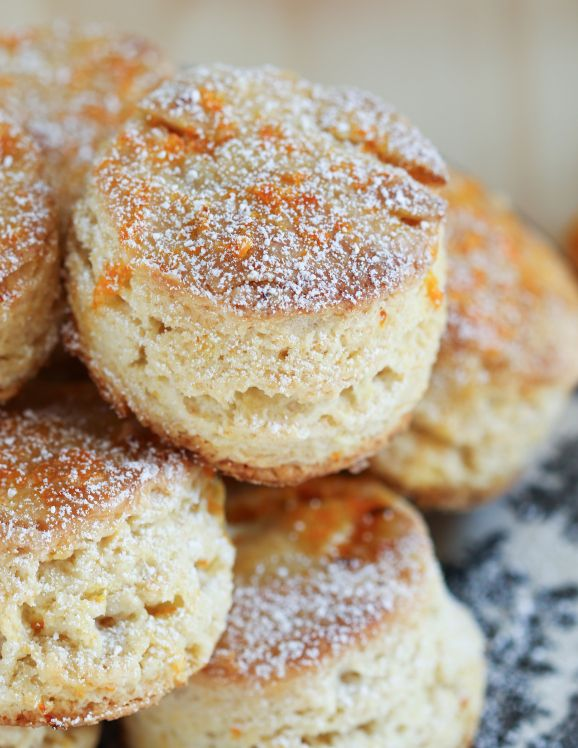 Fragrant Orange English Scones | Thirsty for Tea