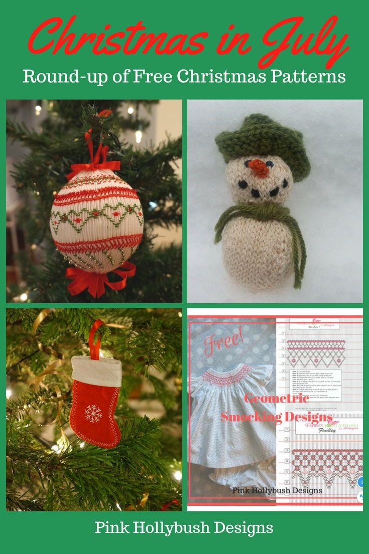 Christmas In July Resource Round Up Christmas Sewing Christmas Decorations Handmade Christmas Ornaments