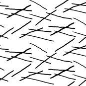 sticks black on white by igotstripes_studio