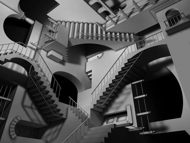 escher staircase Gallery