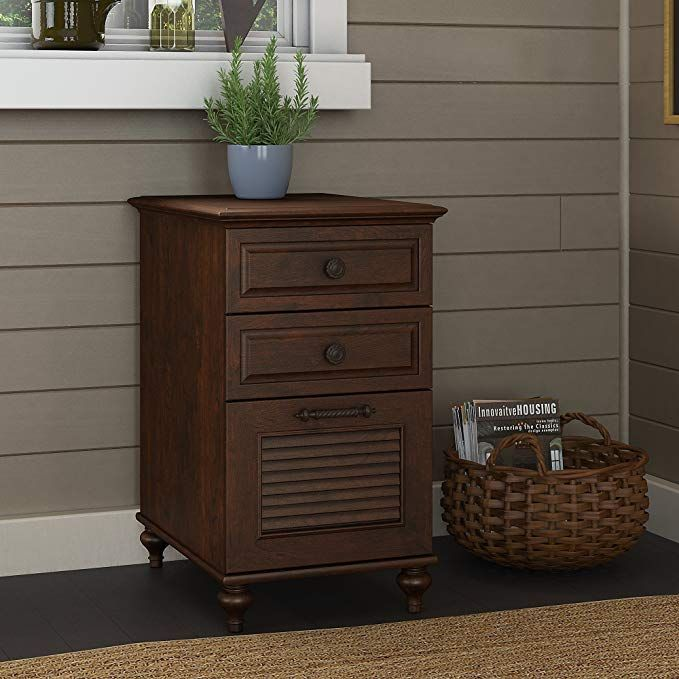 Volcano Dusk 3 Drawer File Cabinet In Coastal Cherry Review Filing Cabinet Bush Furniture Kathy Ireland
