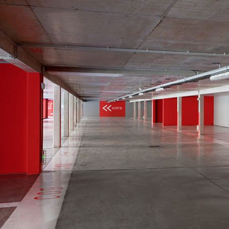 Dezeen » Blog Archive » Parking Lot by N+B Architectes