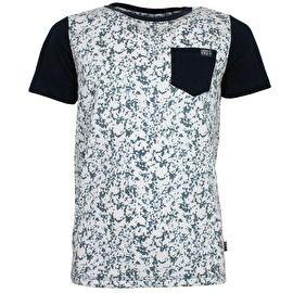 VinRose T-shirt Rami combineert nautische kleuren met een stoere print. € 24
