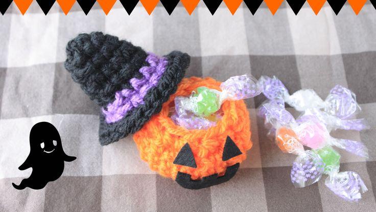 ハロウィンかぼちゃのお菓子入れ【かぎ編み】の作り方 編み物 編み物・手芸・ソーイング ハンドメイド・手芸レシピならアトリエ