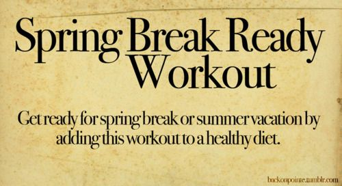 Daily workout plans - love this - can't wait for my 8wk post-op mark...