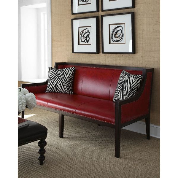 Leather Furniture Stores In Birmingham Al: 1000+ Ideas About Red Leather Sofas On Pinterest