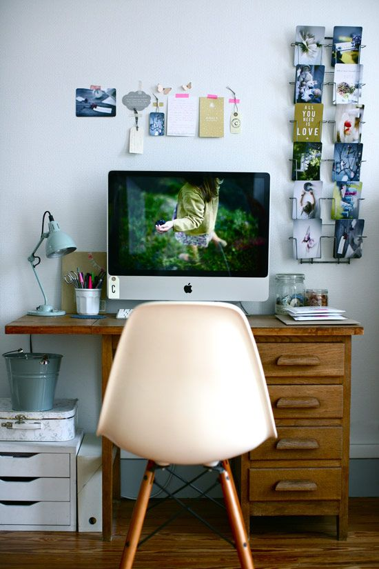 I have a desk pretty much identical to this one. I'm still wondering whether to paint it or not.