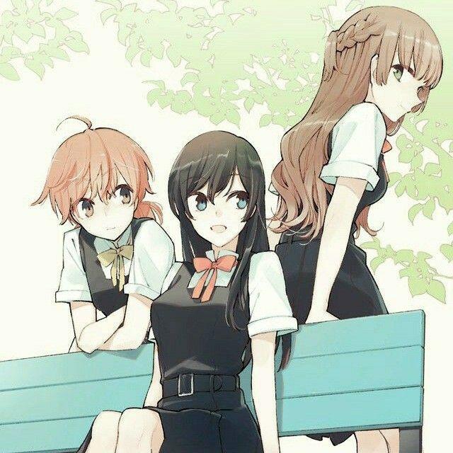 Bloom Into You In 2020 Anime Anime Friendship Yuri Manga