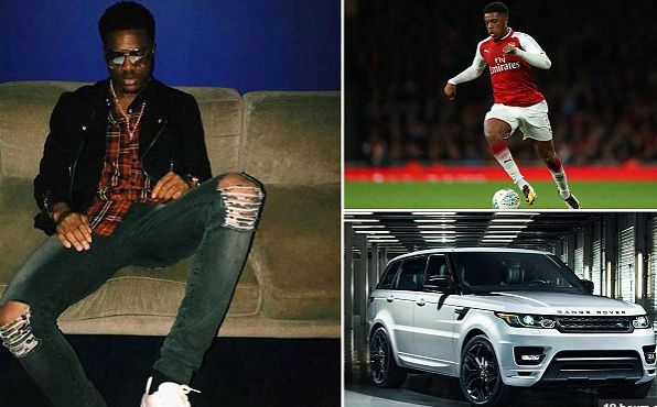 Arsenal starlet and Nigerian footballer Chuba Amechi Akpom has been banned from driving after crashing his 60000 Range Rover while he was drunk on a concoction of 'vodka and cranberry juice'.  Daily Mail Sport reported that at around 4.50am on the morning of December 17 the 22-year-old smashed a fence and furniture after losing control of his car and mounting a grass verge near his home in Barnet North London.  Police followed the trail of destruction and gave Akpom a breath test. After it…