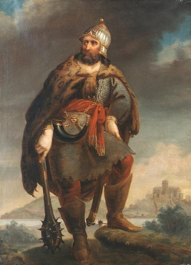 Ősmagyar vitéz vár előtt 1852.jpg (632×874)