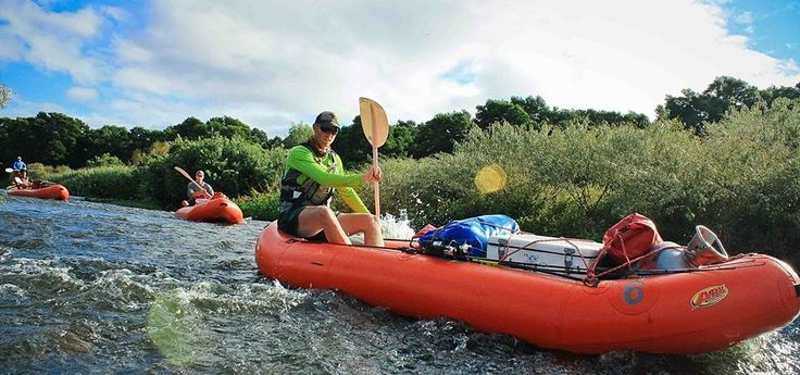 Guide on the Breede River.
