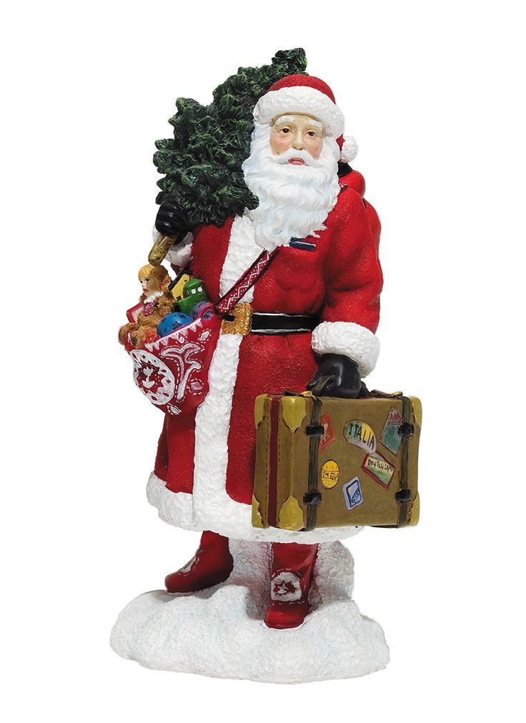 From a collection of limited edition Pipka ceramic Santa's, each $59.00.  Metro Camera Imaging Center | 703.412.2808