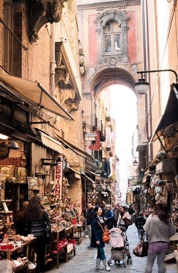 Only In...NAPLES-memories of a long ago place where I once lived