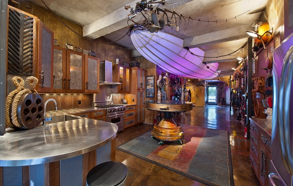 Chelsea NYC steampunk apartment