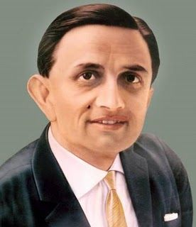 The father of India's space program, Dr. Vikram Sarabhai - Mythical India