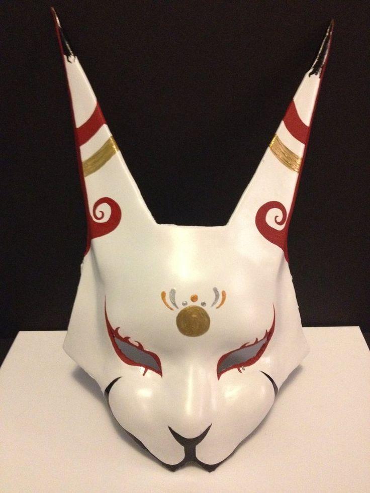 Custom Kitsune Mask by Sashasama