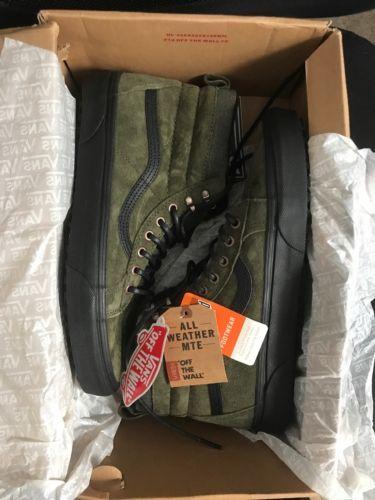 separation shoes 7eda1 5d9d8 Vans SK8-HI MTE SHOES Men s Size 10.5 PAT MOORE GRAPE LEAF