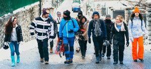 Skiing trip to Abruzzo with JCU Athletics
